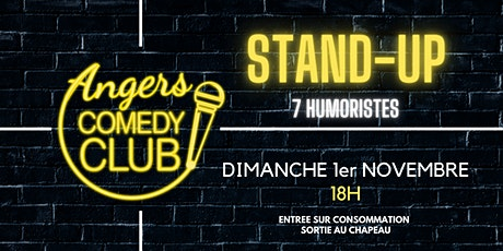 Angers Comedy Club - Dimanche 1er Novembre 2020 / Les Folies Angevines billets