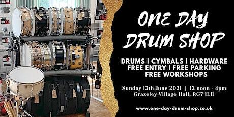 One Day Drum Shop tickets