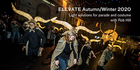 ELEVATE 2020: Lighting solutions for parade and costume with Rob Hill tickets