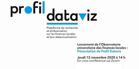 Profil Dataviz, l'Observatoire universitaire des finances publiques locales billets