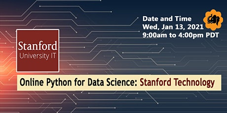 Online Python for Data Science Training tickets