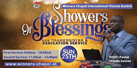 1st Service | 25th October Sunday Service | Showers of Blessings