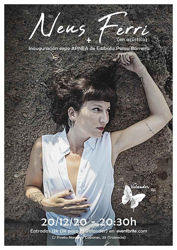 """Imagen de Neus Ferri + Expo """"Apnea"""" en El Volander (PASE 2)"""