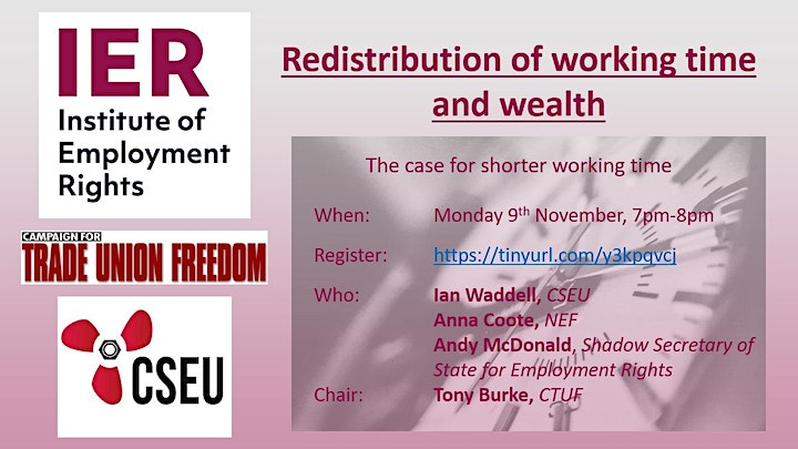 Redistribution of working time and wealth image