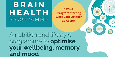 6 Week  Brain Health Program tickets