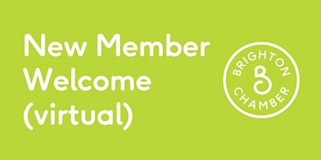 New Member Welcome (Virtual) tickets