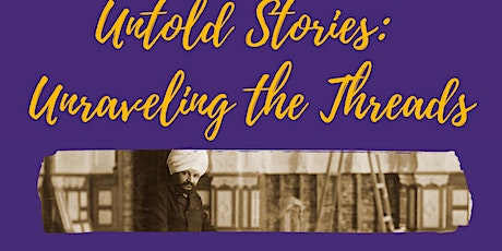 Untold Stories: Unraveling the Threads tickets