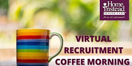 Virtual Recruitment Coffee Morning tickets