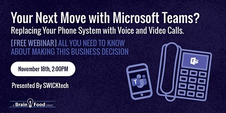 Your Next Move with Microsoft Teams? Replacing your Phone System with Voice tickets