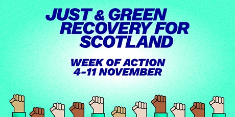 A Just and Green Recovery for Scotland tickets