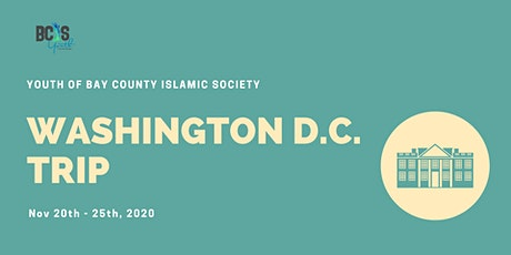 BCIS YTH Washington D.C. Trip - Scholarship Application tickets