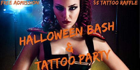 Halloween Bash/ Tattoo Party tickets