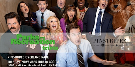 Parks and Rec Trivia at Pinstripes Overland Park tickets