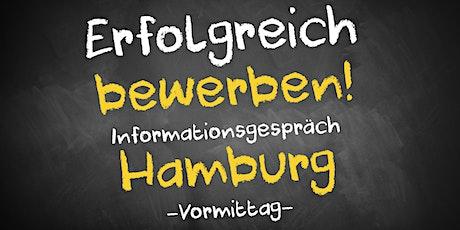 Bewerbungscoaching - Informationsgespräch AVGS Hamburg Tickets