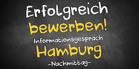 Bewerbungscoaching Informationsgespräch AVGS Hamburg - Nachmittag Tickets