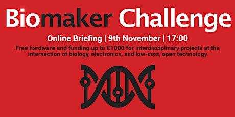 2020 Biomaker Challenge Briefing tickets