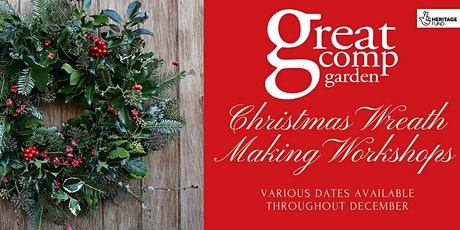 Wreath Making Workshop and Lunch tickets