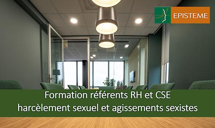 Image pour Formation réferents RH et CSE harcèlement sexuel et agissements sexistes