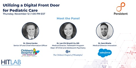Utilizing a Digital Front Door for Pediatric Care tickets