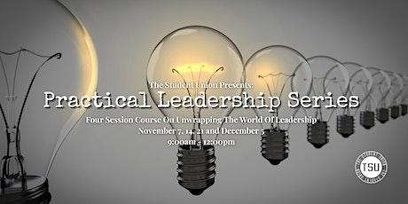 Practical Leadership Series tickets