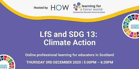 LfS and SDG 13: Climate Action tickets