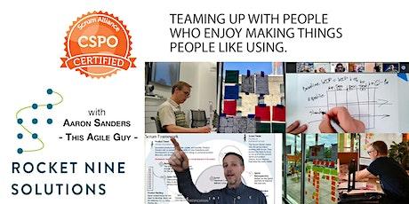 Aaron Sanders|Ridgway, CO-Online|Scrum Product Owner|CSPO|Jan.2021 tickets