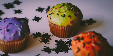 #SkillsAtHome Spooktacular - Halloween Cupcake Decorating Workshop tickets