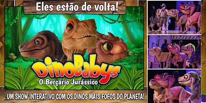 Imagem do evento Desconto! Espetáculo DinoBabys - O Berçário Jurássico no Teatro Corinthians