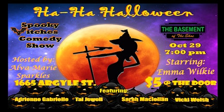 Ha Ha Halloween - Spooky 3itches Comedy tickets
