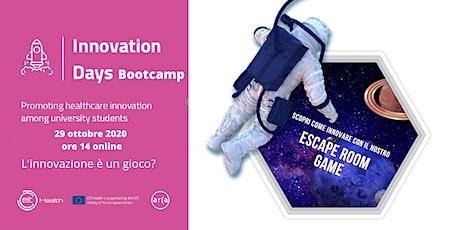 Innovation Day - Bootcamp online di presentazione biglietti