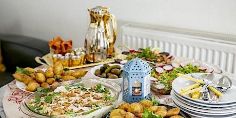 Open Kitchens | Rasha's stuffed chicken roll w/ aubergine salad tickets