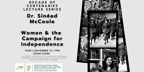 Decade of Centenaries Lecture Series: Women & the Campaign for Independence tickets