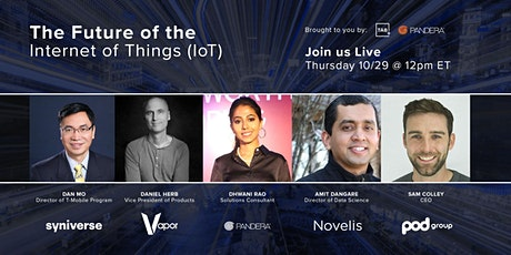Community Connect | The Future of the Internet of Things (IoT) tickets