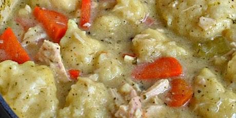 UBS - Virtual Cooking Class: Chicken Dumpling Soup tickets
