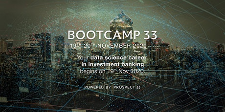 Data Science Career Accelerator in Investment Banking | 2-Day Bootcamp tickets