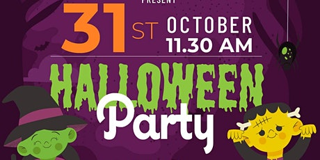 Halloween Party with Fabi Therapy  - Craft | Dance | Baking tickets