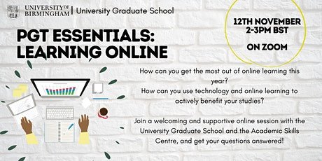 PGT Essentials: Learning Online tickets