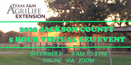 Jackson County 5 Hour Virtual CEU Event tickets
