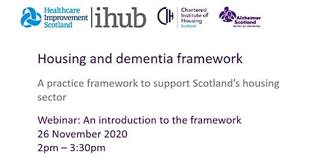 An Introduction to the Housing and Dementia Practice Framework tickets