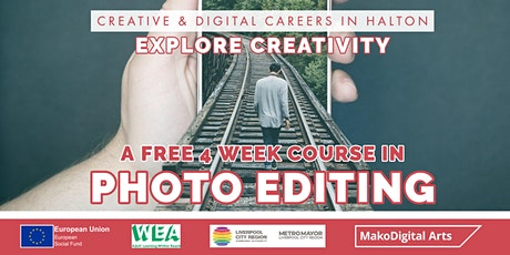 Digital Photo Editing | 4 Week Course | Ages 19+ tickets