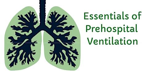 Essentials of Pre-Hospital Ventilation tickets