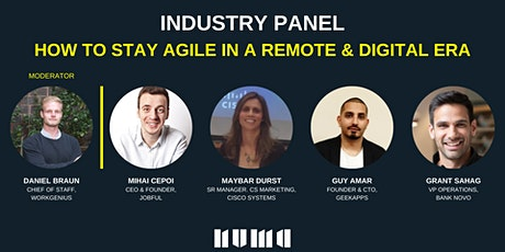 HOW TO STAY AGILE IN A REMOTE & DIGITAL ERA tickets