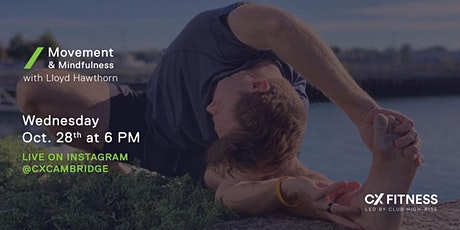 CX Fitness - Movement & Mindfulness with Lloyd Hawthorn tickets