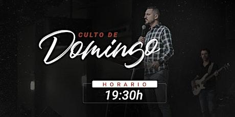 Culto de Domingo - 19:30h