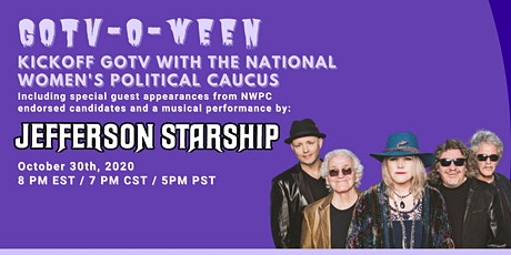 GOTV with The National Women's Political Caucus  and Jefferson Starship tickets