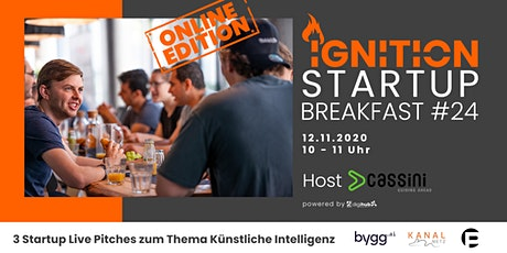 Ignition Startup Breakfast #24 Tickets
