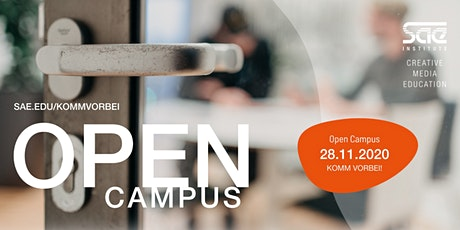 OPEN CAMPUS @ SAE Institute Hannover Tickets