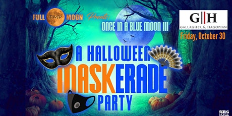Once in a Blue Moon 3 MASKerade Party tickets