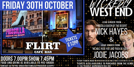 Wickedly West End at Flirt tickets