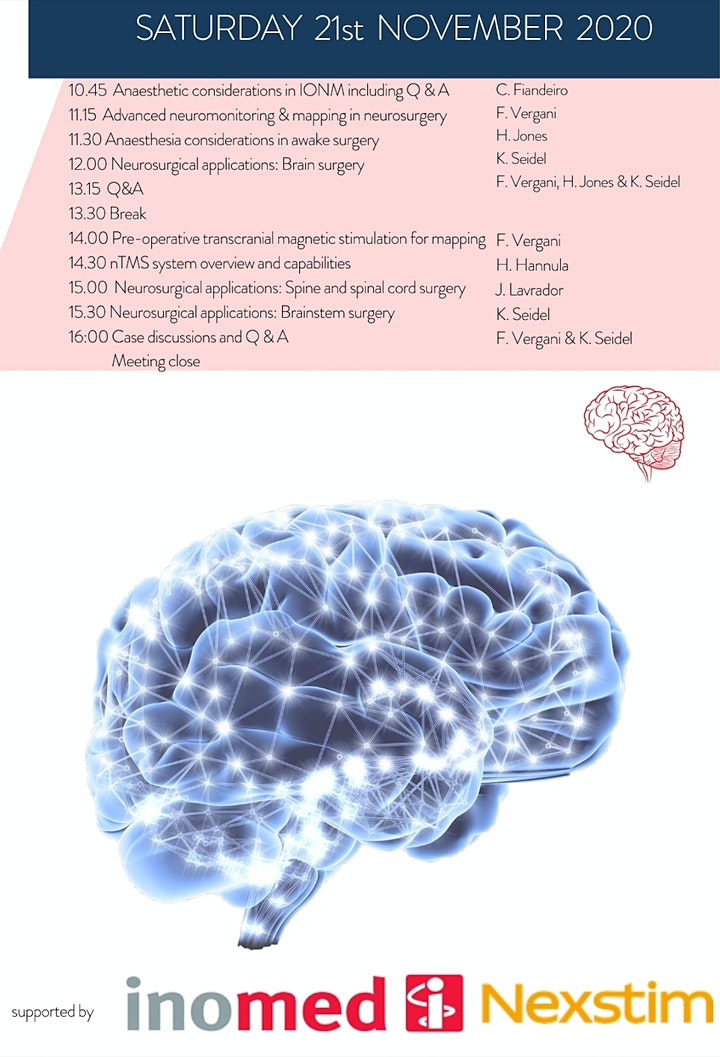 The London Neuromonitoring & Brain Mapping International Course image